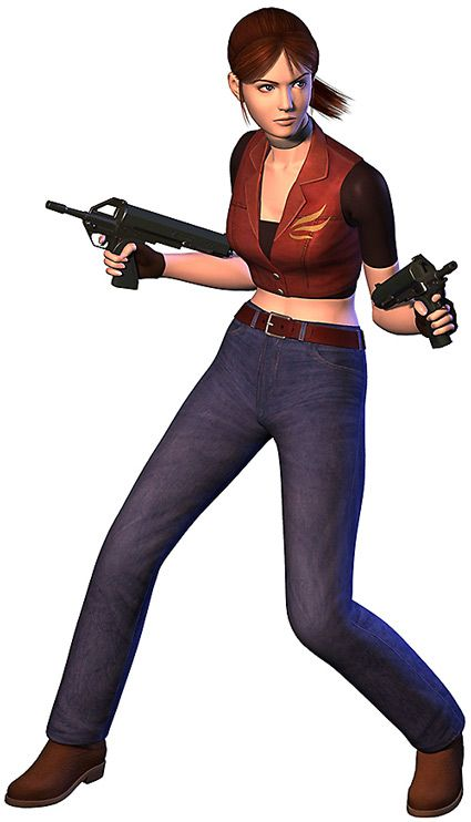 "Claire Redfield ""Let Me Live"" outfit from Resident Evil: Code Veronica X #residentevil #codeveronica #claireredfield"