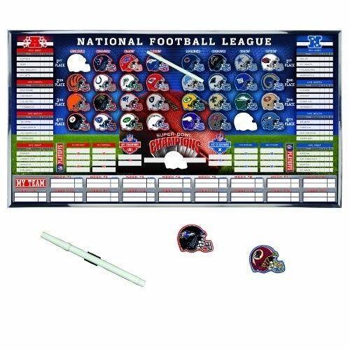 NFL Standings Board Football Team Tracker Playoff Wall Display Season Games Info #WinCraft #nfl #standings #board