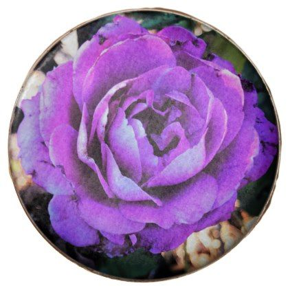Pretty Purple Rose Chocolate Covered Oreo - kitchen gifts diy ideas decor special unique individual customized