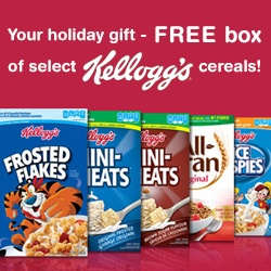 Get a Free Box of Kellogg's Cereal