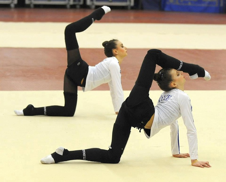 rhythmic gymnastics training More