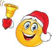 Kling Glöckchen, klingeling - horcht horcht, der Weihnachtsmann steht vor der Tür!