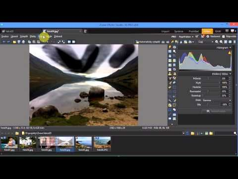 úprava fotek online Zoner - Josef Cvrček - díl 3 - YouTube