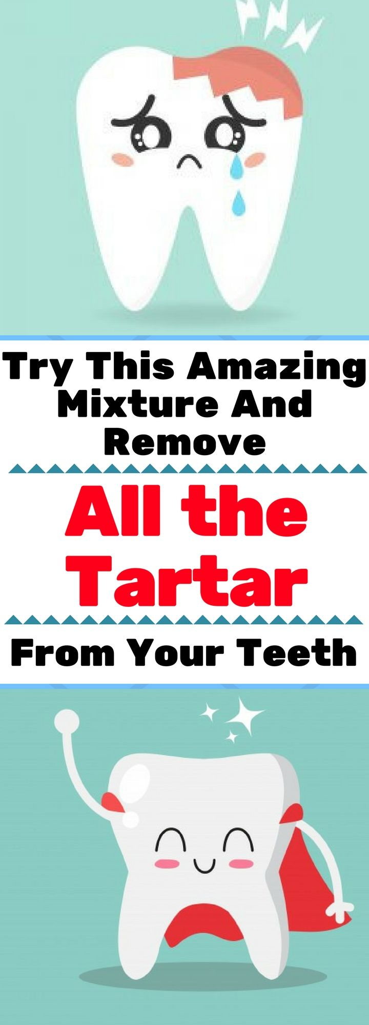 Try This Amazing Mixture And Remove All the Tartar From Your Teeth ! Read This!!!