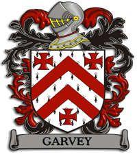 Garvey family crest