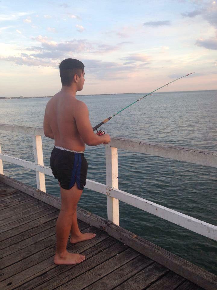 Fishing last night