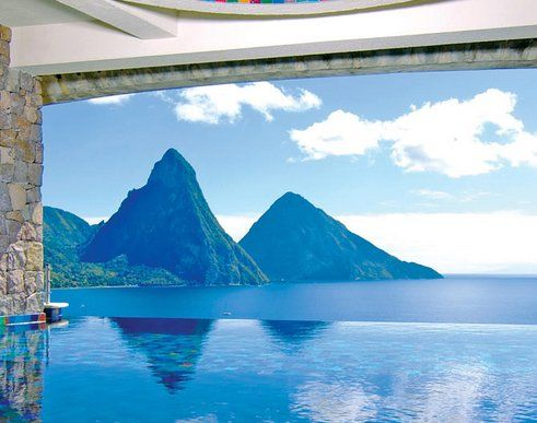 Enter to win a $4,999.00 3-night stay for two in a Star Sanctuary Suite at Jade Mountain Resort in St. Lucia, daily breakfast and dinner and $500 towards flights.