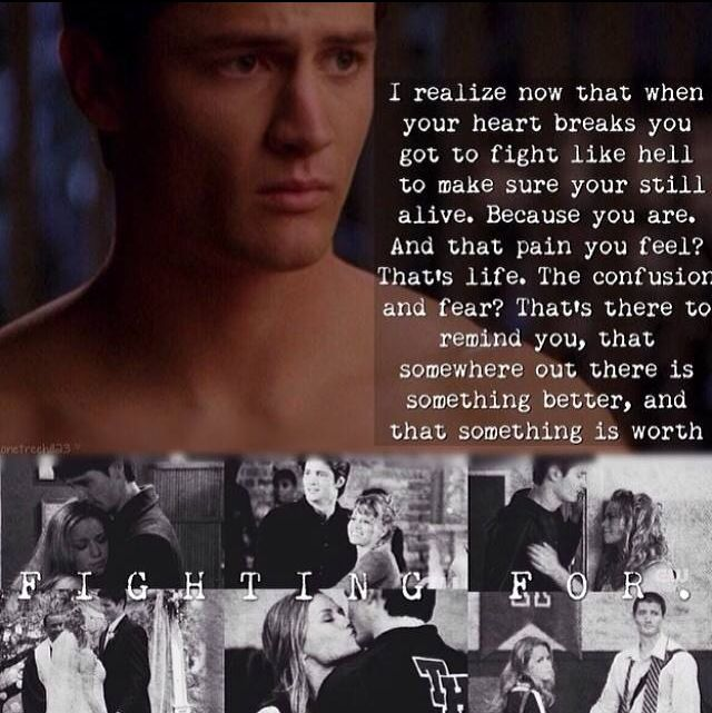 One Tree Hill Final Episode Quotes: One Tree Hill Nathan And Haley