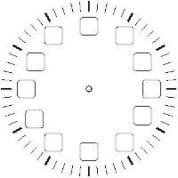 Blank Clock Faces