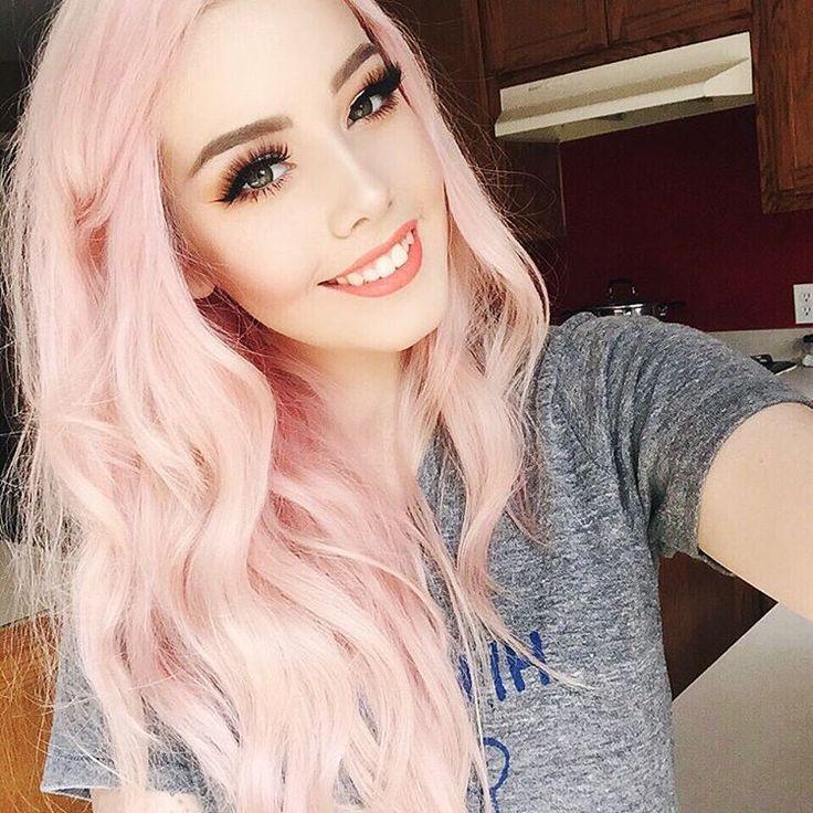 The 25 Best Light Pink Hair Ideas On Pinterest Pastel