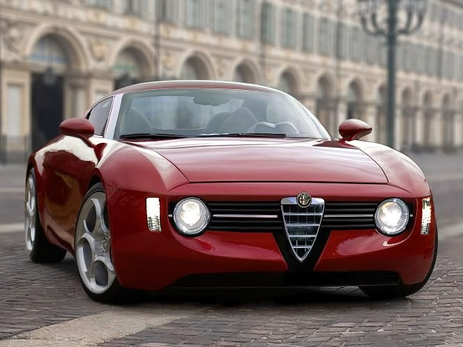 Gorgeous Alfa Romeo Giulia Concept http://linkat.info/ Who thinks retro cars rock?!