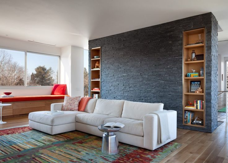 Captivating Living Room In A Vacation Home In Rhode Island By US Studio Lubrano  Ciavarra. Gray Nice Design
