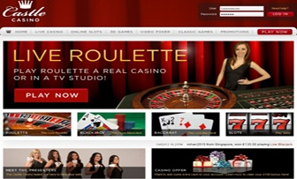 """Castle Casino, founded & licensed in Costa Rica in 2010, belligerently serves by specialising under the status of """"Live Casino"""" with her team of 80 Live Dealers. Within this concept, services offered cover Live Blackjack, Live Roulette and Live ..."""