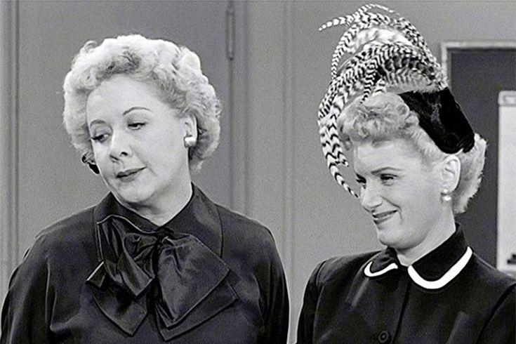 vivian vance   Vivian Vance and Shirley Mitchell in I Love Lucy