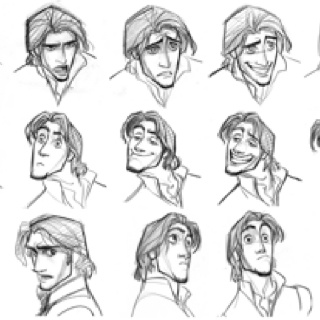 Jin Kim: Disney Tangled, Facials Expressions, Sketch, Glen Keane, Disney Style, Concept Art, Characterdesign, Character Design, Flynn Rider