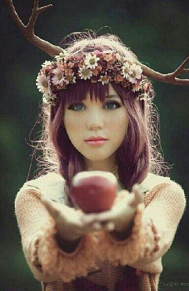 -Snow white..