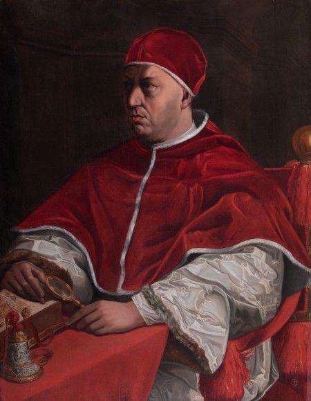 """Jacopino del Conte: """"Ritratto di Leone X"""""""