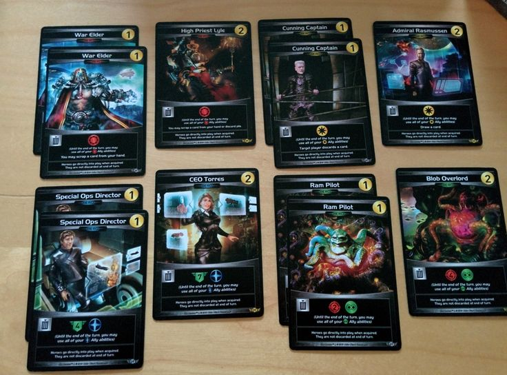 Star Realms: Crisis – Heroes |  All the cards from the Star Realms crisis expansion: Heroes