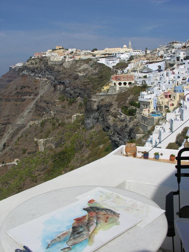 #Santorini Island in #Greece. Visit exploresantorini.com #SantoriniGreece