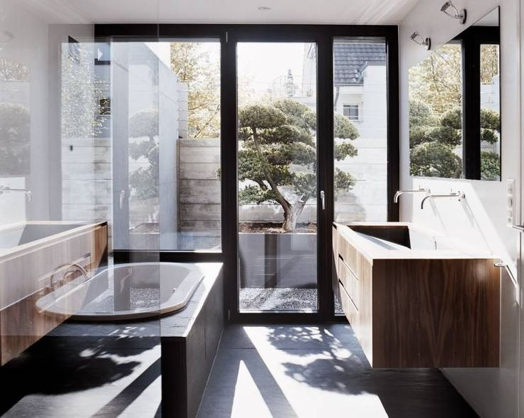 156 best Badezimmer images on Pinterest Bathroom, Bathtubs and - kleine moderne badezimmer