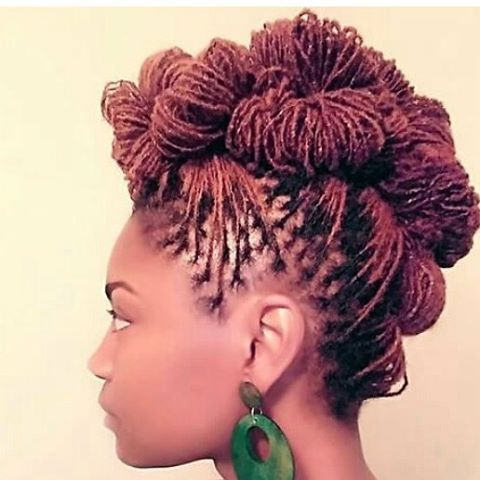 Beautiful Sisterlocks Updo                                                                                                                                                                                 More