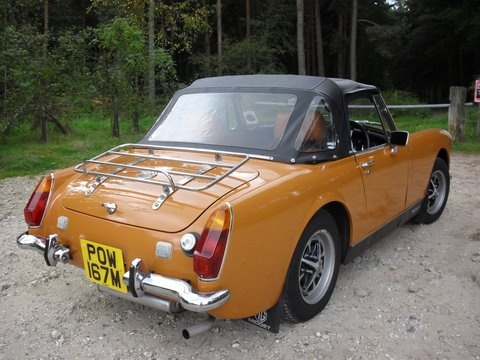 MG Midget, always wanted one.
