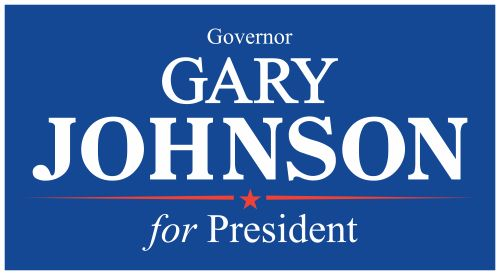 Gary Johnson for President 2016 logo
