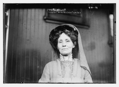 Emmeline Pankhurst (1858-1928) was an English socialist & feminist who daringly fought for women's right to vote.