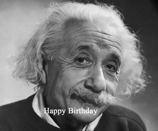 Happy Birthday Albert Einstein 3/14