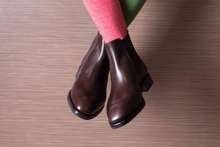 Chelsea Boots & Luxury Socks