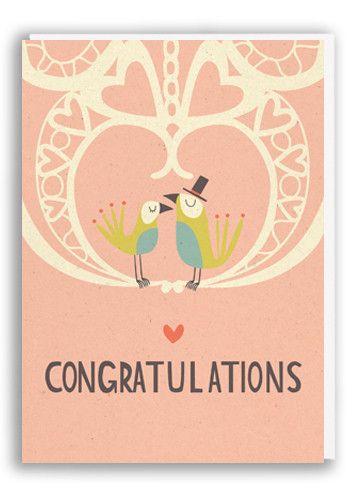Love birds! #wedding #congratulations