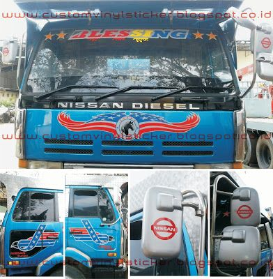 Nissan Diesel Truck - Custom Sticker (Part II)