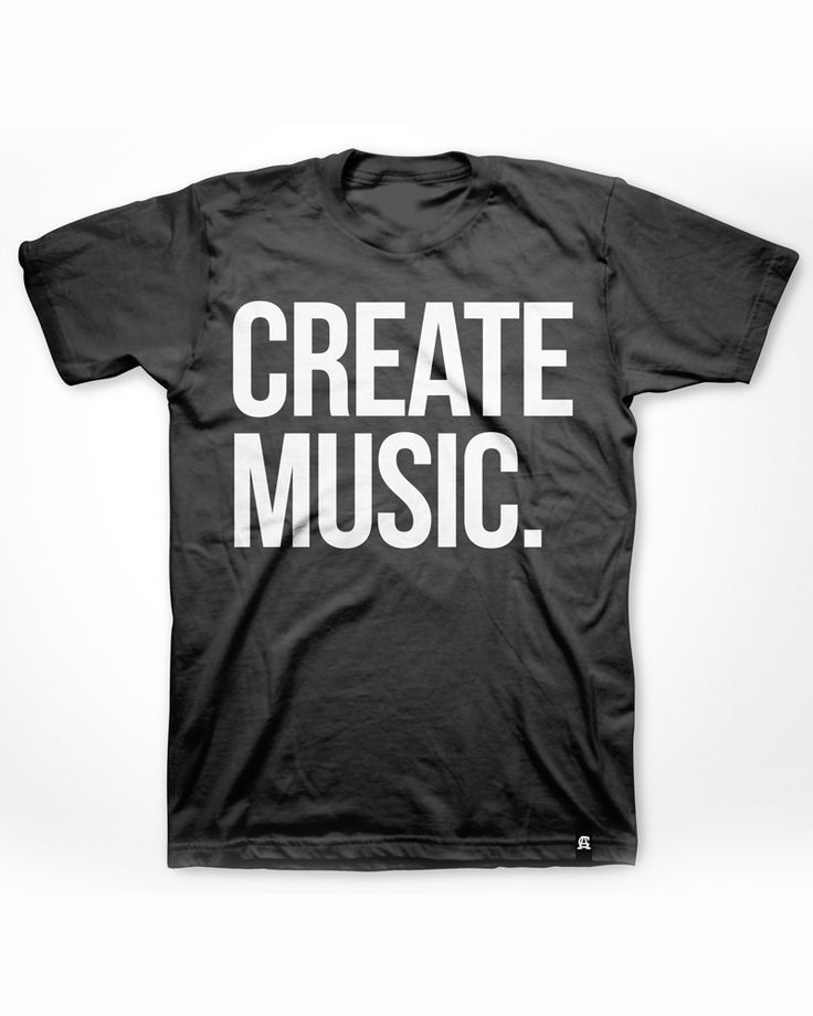 Create music shirt or tank. I want one!