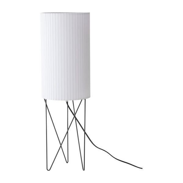 White standard lamp
