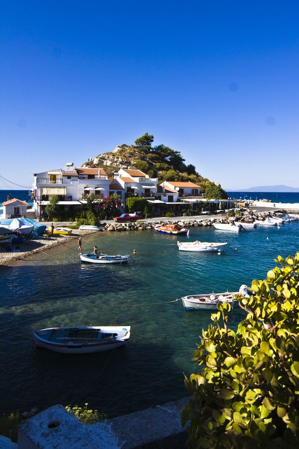 Kokkari, Samos Island, Greece. Samos is definitely on my list of islands for my next trip to Greece