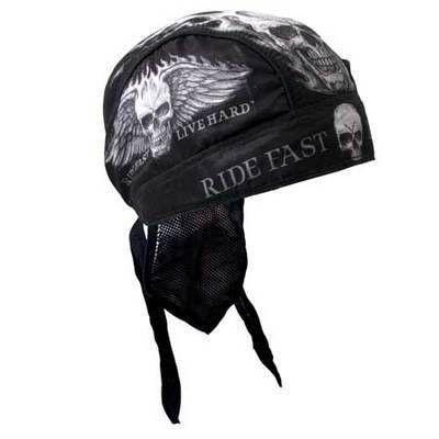 Fejkendő, Ride Fast, Live Hard - headkerchief