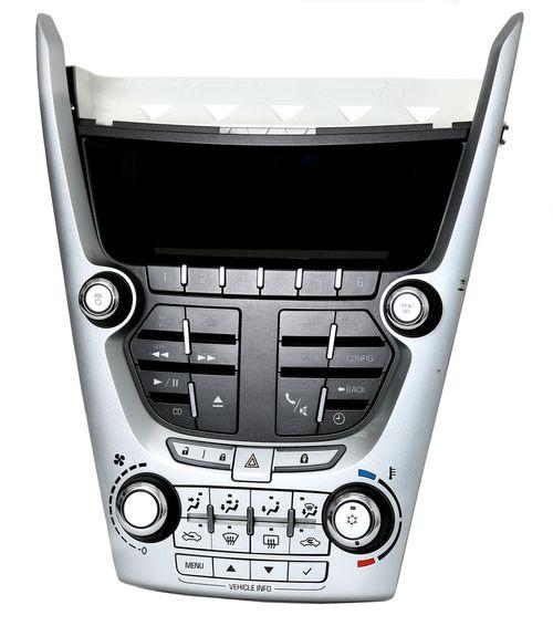2010-2011 Chevy Equinox Radio Control Panel w Climate Contols & Display 20906747