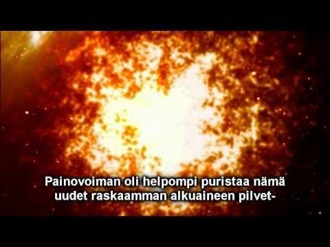 Alkuräjähdyksestä ihmiseen - YouTube