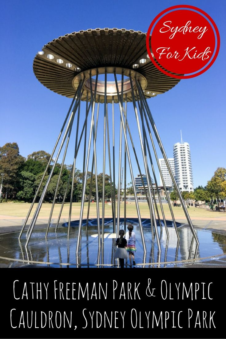 Cathy Freeman Park & Olympic Cauldron, Sydney Olympic Park