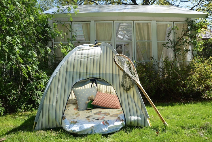 A beautiful little life: Tent