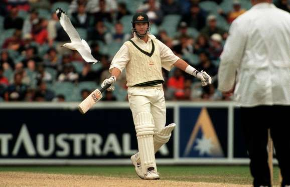 Mark Waugh - Jack Atley/ALLSPORT