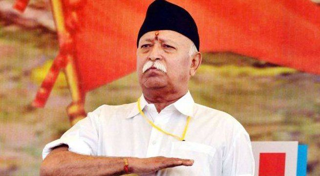 """New Delhi: Demanding ban on cow slaughter across the country, RSS chief Mohan Bhagwat on Sunday said that any violence in the name of cow protection 'defames cause'. Read More: Not In Presidential Race: RSS Chief Bhagwat Rubbishes Rumours """"We want a law banning cow slaughter..."""