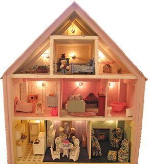 131 Best Doll House Ideas Images On Pinterest Dollhouse Ideas