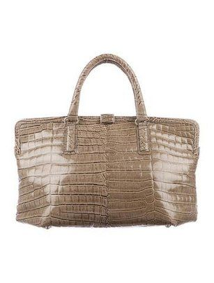 8f50242a081 Crocodile Frame Tote Bag Bottega Veneta   High Fashion   Pinterest ...