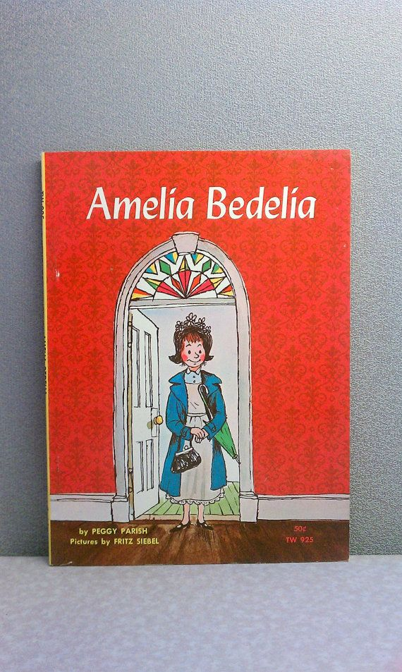 "I loved these books!  Vintage Children's Book - Amelia Bedelia 1970 Scholastic  Use promo code ""SATISFACTION"" for 20% off! ALL sales thru New Years will go to World Vision!"
