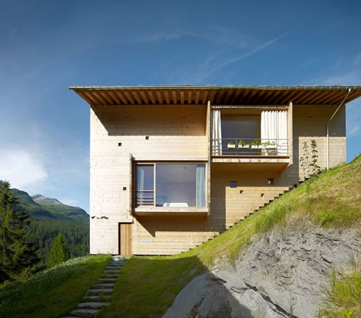 ANNALISA HOUSE by Peter Zumthor.