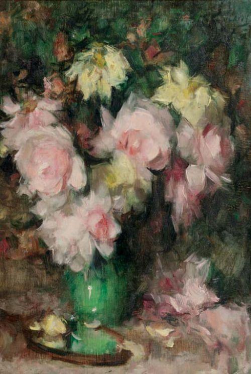 floralart.quenalbertini: Flower arrangement by Jean Laudy