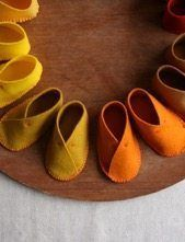 DIY : The Cutest Felt Baby Shoes – DIY real