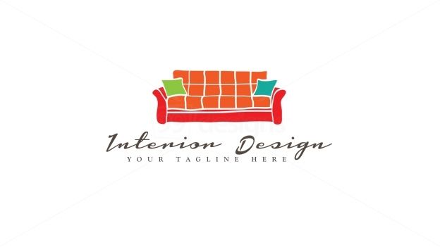 interior design logo ready made logo designs 99designs logo pinterest. Black Bedroom Furniture Sets. Home Design Ideas