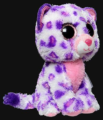 Beanie Boos At Justice Glamour Leopard Ty Beanie Boo